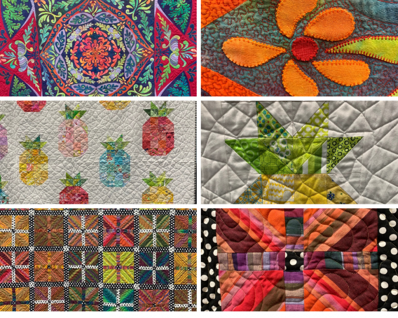 KCQGF Quilt Collage